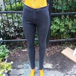 VINCE grey denim leggings size 4